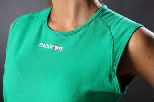 Волейбольная футболка MACRON ANTIGUA Green