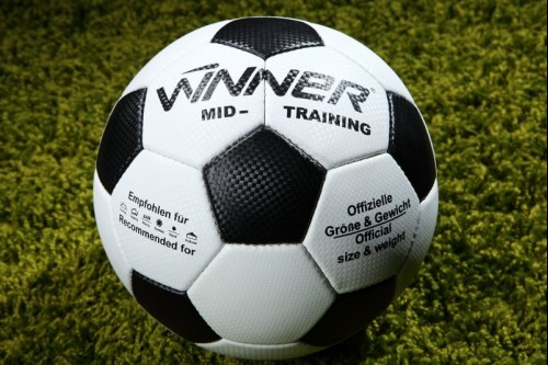 Мяч футбольный тренировочный WINNER MID TRAINING №4