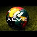 Мяч футбольный ALVIC STREET PARTY GREEN