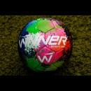 Мяч футбольный WINNER STREET FUN GREEN