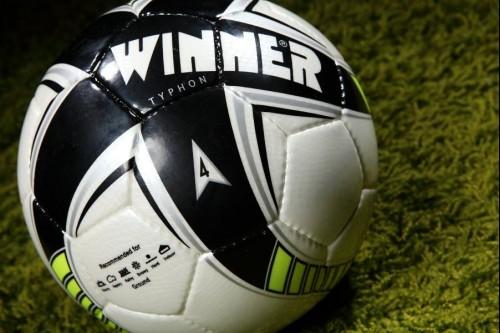Мяч футбольный WINNER TYPHON GREEN FIFA APPROVED 5