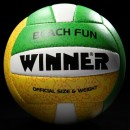 Мяч волейбольный WINNER BEACH FUN Green
