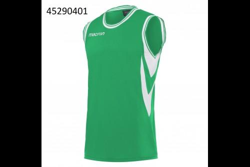 Баскетбольная футболка MACRON ETHANE green