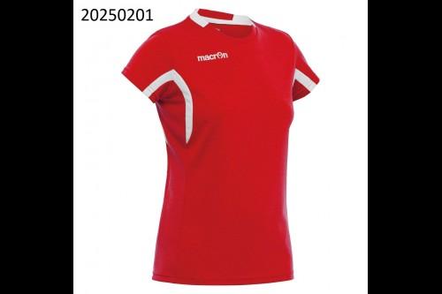 Женская футболка MACRON ALKALINE Red