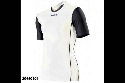 Волейбольная футболка MACRON CONGO White Black