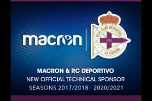 MACRON новый технический спонсор Депортиво