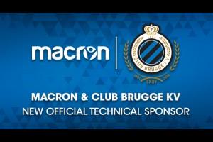 MACRON новый технический спонсор Брюгге