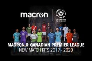 Macron представил футбольную форму для Премьер-лиги Канады