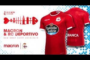 Macron и Deportivo представили новый комплект футбольной формы