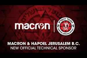 Macron новый технический спонсор Хапоєл Иерусалим