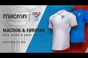 MACRON представил новую футбольную форму Фарерских островов