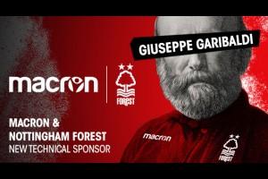 MACRON стал техническим спонсором Nottingham Forest