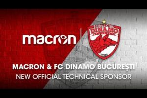 MACRON стал техническим спонсором Динамо Бухарест