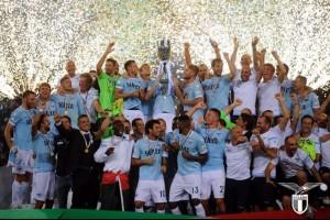 Лацио в MACRON завоевывает Суперкубок Италии