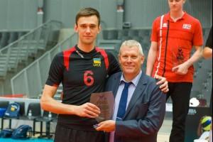 Мужская сборная Украины по волейболу стала победителем Евролиги