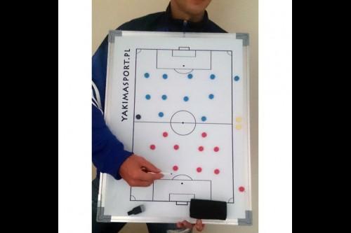 Футбольная тактическая доска YAKIMASPORT 60x45 см 100074